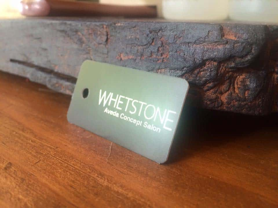 Whetstone Aveda Concept Salon Treat Card