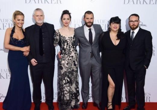 50 shades Darker London Premiere
