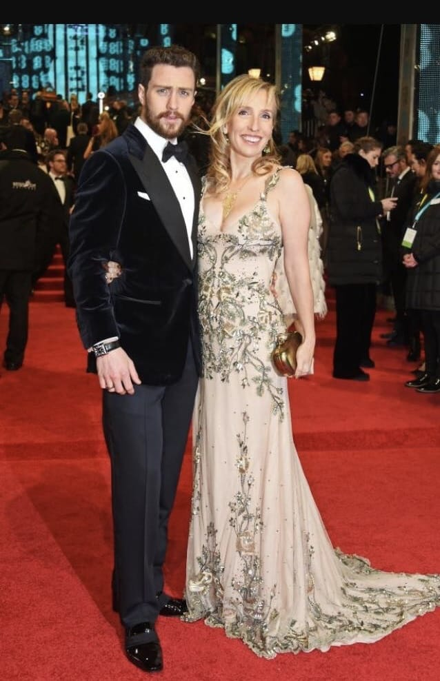 Aaron Taylor Johnson & Wife Sam Taylor Johnson on Red Carpet at BAFTAS's