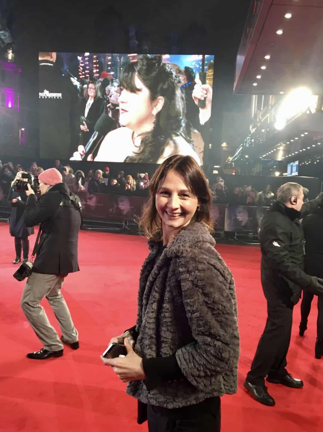Joy On The Red Carpet at The London 50 Shades Darker Premiere London