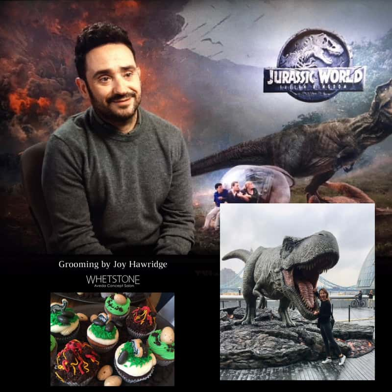 Grooming by Joy Hawkridge Jurassic World Fallen Kingdom