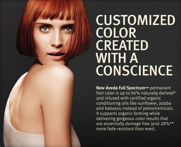 Aveda Full Spectrum Colour at Whetstone Aveda Concept Salon