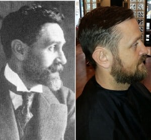Mens Haircuts 1916 & Now