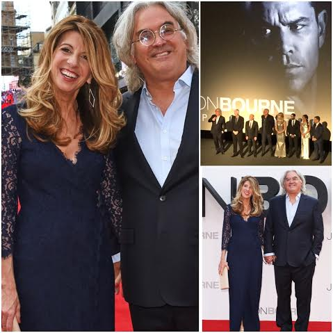 Joy Hawkridge Works at Jason Bourne Premiere, London