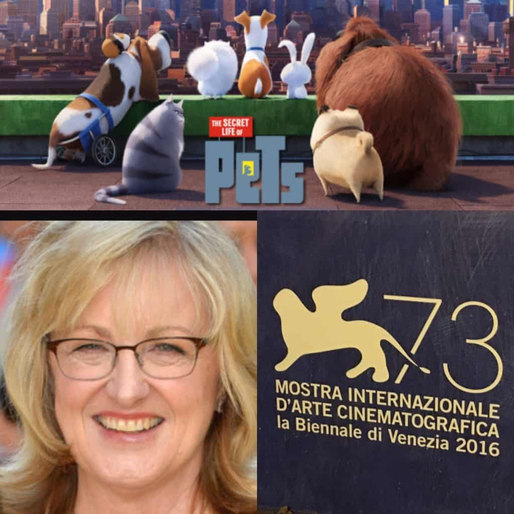 Joy Working at 73rd Venice International Film Festiva www.whetstone.ie