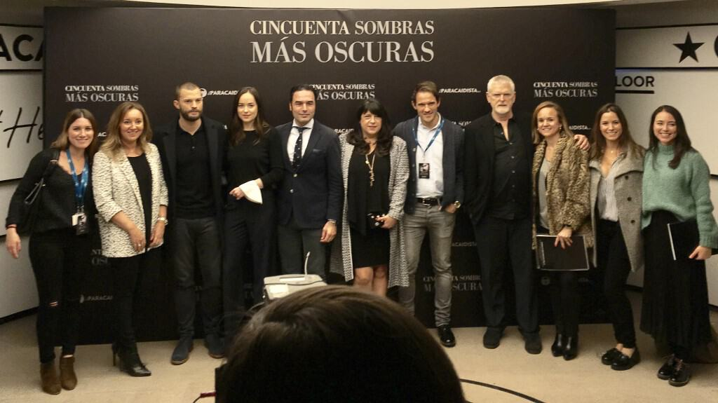 50 Shades Darker Tour Madrid Press Junket