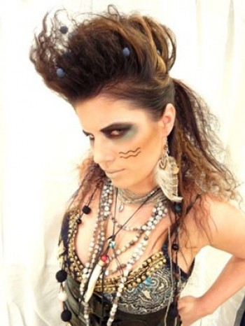 whetstone_aveda_concept_salon_model_tribal